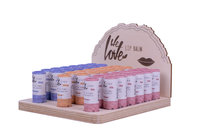 WltP Lip Balm Display ( 3x 12 + Tester) 15 x 19 x 22 cm
